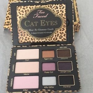 Too faced cat eyes palette brand new